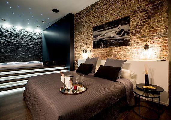 Chambre Avec Jacuzzi Sauna Privatif Bruxelles